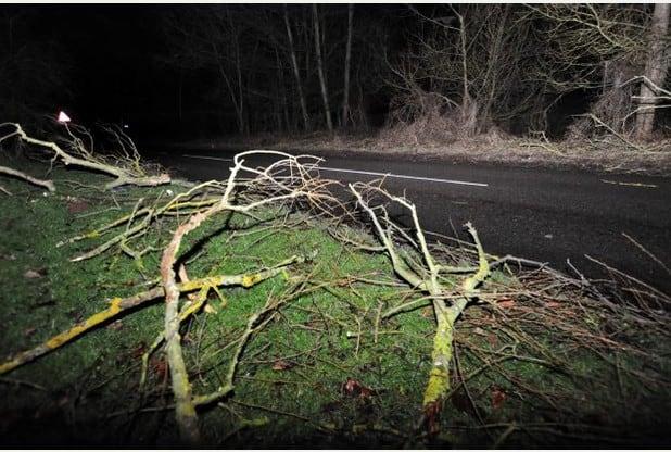 storms derbyshire